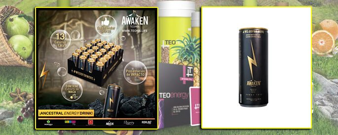 AWAKEN ENERGY DRINK POR 24 LATAS