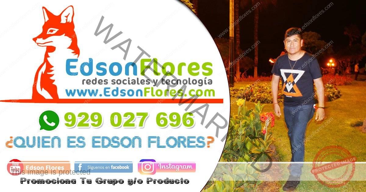 QUIEN ES EDSON FLORES