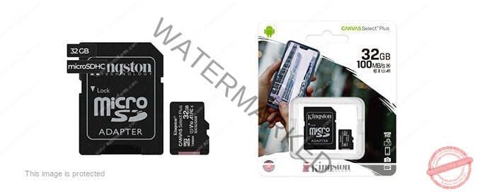 Tarjeta Micro SD KINGSTON CANVAS MEMORIA 32GB