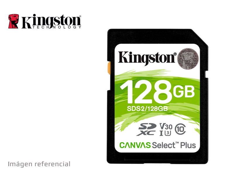 Memoria Micro Sd Kingston 128gb Clase 10 Original