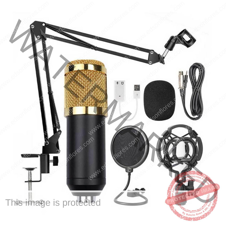 Micrófono condensador BM-800