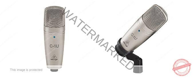 Micrófono De Condensador Behringer C-1U