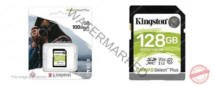 Tarjeta Kingston SDS2 128GB