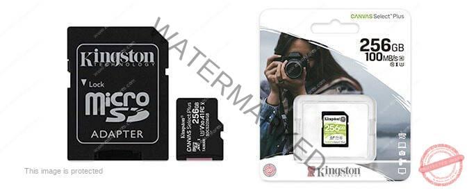 MEMORIA micro SD-256GB KINGSTON UHS-I U1 CL10