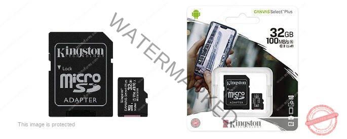 MEMORIA micro SD 32GB KINGSTON UHS-I U1 CL10
